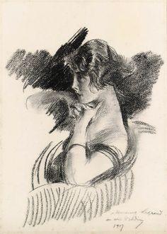 Portrait of a lady, Giovanni Boldini (1842 - 1931)