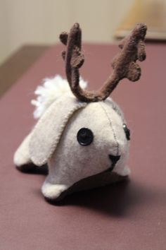 Jackalope Stuffie. Would have loved this as a kid since I was obsessed with jackalopes.