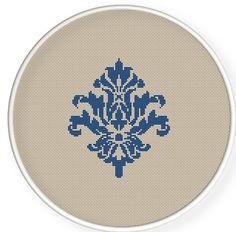 Buy 4 get 1 free ,Buy 6 get 2 free,Cross stitch pattern, PDF,Flower pattern ,ZXXC0166. $4.50, via Etsy.
