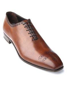 Brown Leather Dress Shoes | Antonio Maurizi