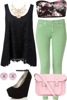"""Dip It Low"" by k-cat on Polyvore"