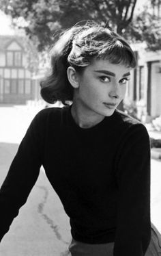 Audrey Hepburn ~ During production of Sabrina (1954), Billy Wilder was continuously working on the script. One day he asked Hepburn to feign illness so he would have enough time to finish the scene to be shot.                                                                                                                                                      More