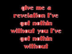 Third Day Give Me a Revelation Lyrics Video