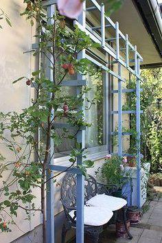 昨日は、ほど良い気温と湿度で しかも快晴。 おかげで、我が家サイズで バラの栽培を第一に考えた 木製パーゴラがついに完成しました♪ まずは、横顔から そして こちらが、正面。 東向きです。 ...
