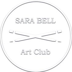 Crossing Pencil Brush Art Club Embosser image