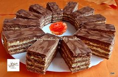 Érdekel a receptje? Kattints a képre! Hungarian Recipes, Hungarian Food, Waffles, Recipies, Muffin, Food And Drink, Chocolate, Breakfast, Cakes