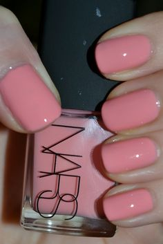 Nars Nail Polish in Trouville A beautiful Seashell Pink that I will certainly be sporting often this Spring and Summer. What pinks will you be wearing this season?