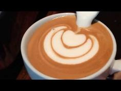 Making Foamed Milk Hearts in Your Homemade Latte is Super Easy if You Follow This One Simple Trick. Watch Closely! - abcdlyfe