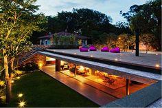 The V4 house from MK27 architects: Sao Paulo