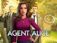 Agent Alice App by Wooga. Crime Investigation Puzzle Apps.
