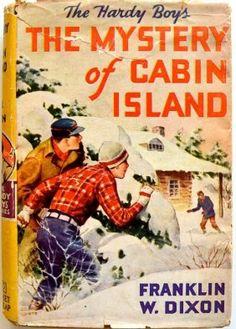 "Franklin W.Dixon ""Hardy Boys The Mystery Of Cabin"" 1929"