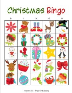 These free printable Christmas Bingo cards are fun for the whole family! Use them as a no-prep way to keep your kids busy or as a holiday party game! Holiday Party Games, Holiday Activities, Holiday Fun, Christmas Bingo Cards, Free Christmas Printables, Free Printable Bingo Cards, Free Printables, Business For Kids, Christmas Colors