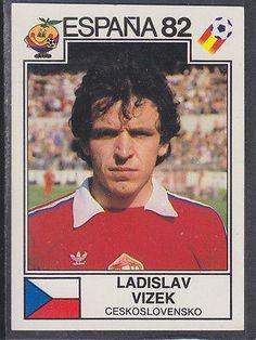 Panini - Espana 82 World Cup - # 269 Ladislav Vizek - Ceskoslovensko