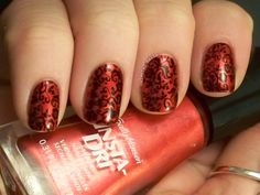Damask Nail Art. Head on over to my blog to check it out. Plus there are more nail arts where this came from.