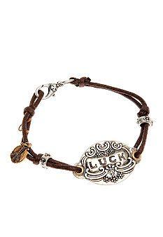 Lucky Brand Jewelry Lucky ID Tag Bracelet