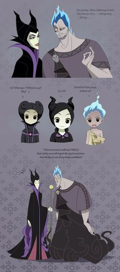 Hades and Meleficent