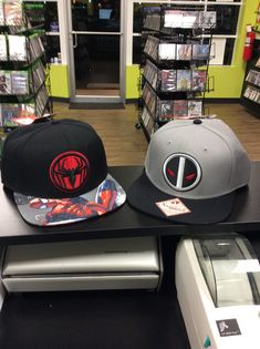 704fe5ed17b624 Not only do we have great games here at Gamers Paradise, we have awesome  accessories like these marvel inspired SnapBacks!