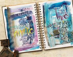 Art Journaling: What to journal? - Art Journaling Adventures - Blogs - Cloth Paper Scissors