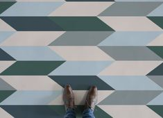 Abstract Geometric Flooring, leading Vinyl Flooring designed and manufactured by Atrafloor. Bring any design concept to life as Flooring. Geometric 3d, Geometric Designs, Rhythmic Pattern, Patterned Vinyl, Higher Design, Triangle Pattern, Modern Spaces, Floor Design, Vinyl Flooring