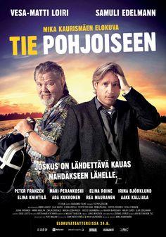 Tie pohjoiseen – Wikipedia Tie pohjoiseen on Mika Kaurismäen ohjaama ja käsikirjoittama road movie -tyylinen elokuva, joka tuli ensi-iltaan 24. elokuuta 2012. Pääosissa näyttelevät Samuli Edelmann ja Vesa-Matti Loiri.