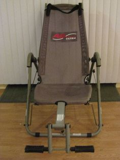 AB Lounge Ultra Exercise Equipment Core Workout Fitness Quest Gray As Seen on TV #FitnessQuest