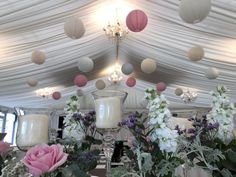 Marquee Wedding, Paper Lanterns, Big Day, Table Decorations, Plants, Furniture, Home Decor, Decoration Home, Room Decor