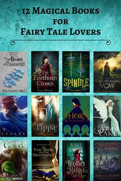 12 Magical Books for Fairytale Lovers - Fantasy Book Ya Books, Book Club Books, Book Lists, Good Books, Book Series, Book Art, Book Suggestions, Book Recommendations, Fantasy Books To Read