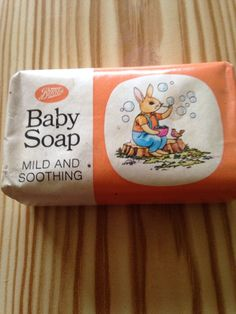 Vintage Boots Baby Soap