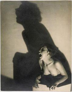 František Drtikol, Le cri, 1927.