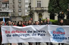 Imaxe para campaña en defensa dun sistema financieiro propio,  que evite a privatización das Caixas de Aforro Galegas