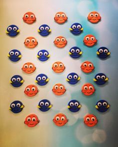 Edible Dozen of Finding Dory / Finding Nemo by SabzCakes on Etsy