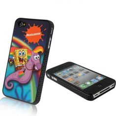seahorse iphone 4 cases | ... Theater TV Spongebob Seahorse hard case back cover for iphone 4 4G