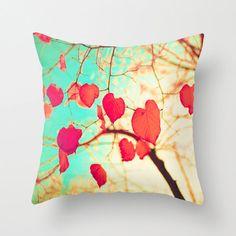 Almohada del corazón amor almohada regalo de por PrettyinMintShop