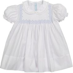 Knitted Romper, Knitted Hats, Little Girl Dresses, Girls Dresses, Punto Smok, Smocked Baby Clothes, Kids Dress Wear, Smock Dress, Bodice
