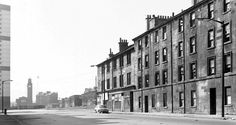 Hospital Street, Gorbals, Glasgow. What was left of the south end in April 1973.