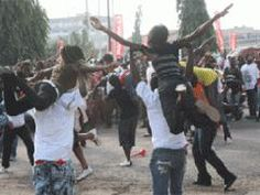 Vodafone Creates Flash Mob - ModernGhana. #Africa #FlashMob #Flash #Mob African, Image