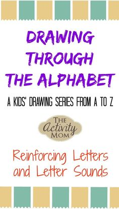 The Activity Mom - Drawing Through the Alphabet Letter D - The Activity Mom Printable Activities For Kids, Kids Learning Activities, Alphabet Activities, Fun Learning, Kids Alphabet, Toddler Learning, Alphabet Letters, Writing Activities, Mom Drawing