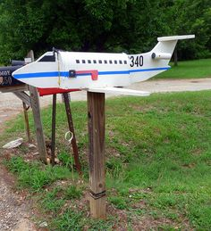 Jet Mailbox, Near Greensboro, Georgia