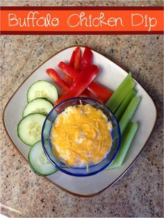21 Day Fix Buffalo Chicken Dip