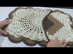 🌸Jogo de Banheiro Cronos. Capa Tampa do Vaso - YouTube Crochet Mandala, Crochet Doilies, Knit Crochet, Crochet Hats, Bathroom Crafts, Bathroom Sets, Vase, Crochet Patterns, Blanket