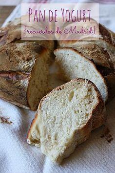 Bread Machine Recipes, Bread Recipes, Yogurt Bread, Pan Relleno, Bolo Fit, Rustic Bread, Pan Bread, Bread Baking, Dinner Entrees