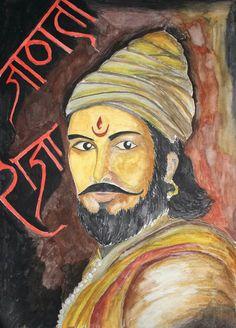 Shivaji Maharaja painting 2016