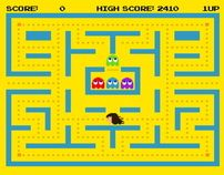PacMan! - Ghost Whisperer by Alejandro Ocando, via Behance