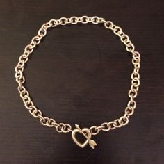 RARE Tiffany heart and arrow toggle necklace This necklace is in excellent shape! You cannot purchase this anymore! Very rare find! Comes with Tiffany pouch Tiffany & Co. Jewelry Necklaces