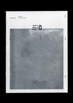 Eric Hu | Distance Provides Clarity – exhibition catalogue for artist Zhang Huan | http://erichu.info/