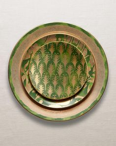 Fortuny Collection - Dinnerware - Green at L'Objet