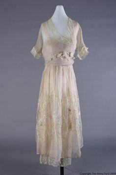 Dress, Lucile, 1917-1919, The Henry Ford Costume Collection
