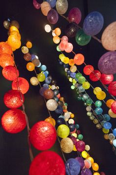 Cable & Cotton fairy lights. The perfect touch of light and texture to decorate your home, gently light up a nursery, or add that bit of something special to your wedding venue. Add a splash of colour to your life with our fantastic fairy lights. Orange is the happiest colour. [Frank Sinatra Quote] #Interiors #Decor #Orange http://fairylights.com