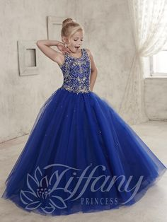Tiffany Princess Pageant Dresses for Girls Style #13447