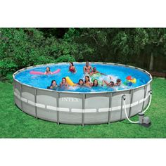 "Intex 26' x 52"" Ultra Frame Swimming Pool"